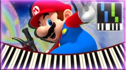 Rainbow Road - Mario Kart Wii【Synthesia】