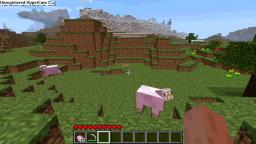 OMG I FOUND PINK SHEEP IN MINECAFT!!!!!!!!.avi