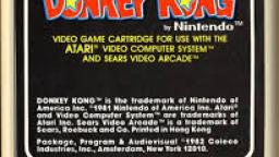 Donkey Kong Review & Gameplay On Atari 2600
