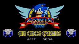 Sonic the Hedgehog (SMS) - Alle Chaos Emeralds