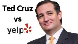 Ted Cruz Supporters Raid Yelp.com! [Fiola Scandal]