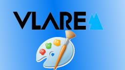 How To Make Vlare Logo on MsPaint