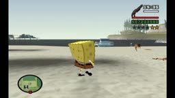 Spongebob Squarpants in San Andreas