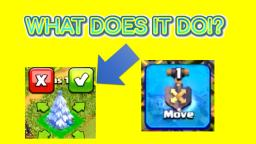 WHAT DOES THE SHOVEL OF OBSTACLES DO! - Clash of Clans.1