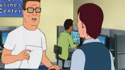 For when someone posts a compressed image / Hank Hill on JPEG