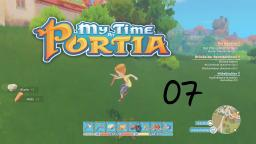 Live Let´s Play My Time at Portia #07- Time Out Probleme