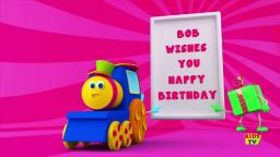 happy birthday song with bob the train! =))