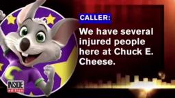 Be careful at Chuck E. Cheese!