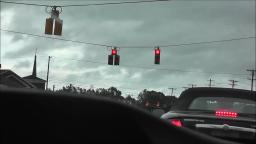 DOGHOUSE STYLE TRAFFIC LIGHT IN MOORESVILLE NORTH CAROLINA VIDEO #2
