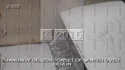 January 06, 2016: Onset of Winter over Berlin