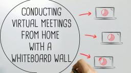 Exactly How to Conduct Virtual Conferences From Your Home With A Whiteboard Wall