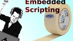 PHP-like embedded scripting in HTML with Java.