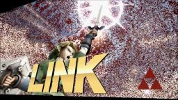 Super Smash Wii-U - Link vs Shiek - Wii-U Gameplay