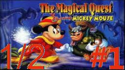 Let´s Play Micky's Magical Quest (Deutsch) - Teil 1 Hoch hinaus in den Wipfeln! (1/2)
