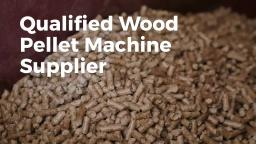 Professional Wood Pellet Machine Supplier