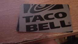 Loading VidLii.com on a Taco Bell Gift Card