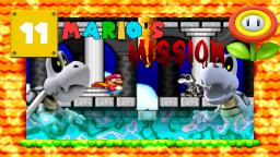 Lets Play Marios Mission [SMW-Hack] Part 11 - Das Knochen-Schloss