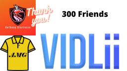 Anthony Giarrusso Thanked Vidlii Friends