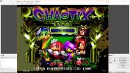 What happens if you load a The Ooze Savestate on Knuckles Chaotix