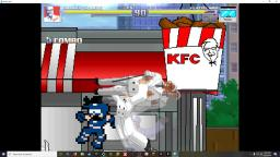 MUGEN-Colonel Sanders VS The really bad spriteswap-ers of 2019
