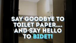Say Goodbye to Toilet Paper and say hello to BIDET!