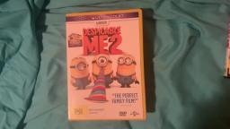 My Despicable Me DVD collection