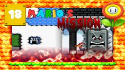 Lets Play Marios Mission [SMW-Hack] Part 18 - Hinauf in die Wolken