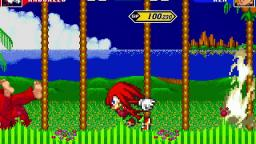 Knuckles Vs. Ken (M.U.G.E.N)