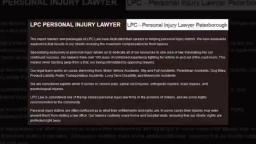 A Disability Lawyer Peterborough - LPC - Personal Injury Lawyer Peterborough (705) 243-3685