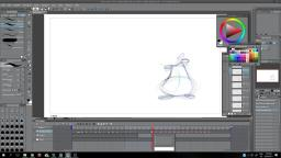 Animating Flour Sack Jumping