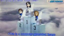 Tomodachi Life - Mii News - Who Logs the Most Toilet Time? (16th of April 2021)