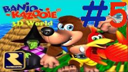 Let´s Play Banjo-Kazooie 3D World (100% Deutsch) - Teil 5 (BONUS) Die Risiko-Challenge!