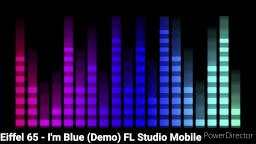 Im Blue - Eiffel 65 (New Remix Demo) Lizzie W