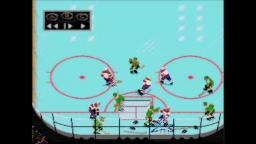 NHL Hockey - Fights - Sega Genesis Gameplay