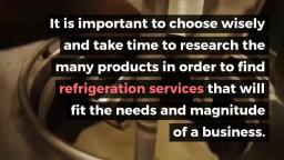 Find the Right Commercial Refrigerators and Freezers