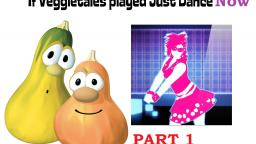 Just Dance Now but its audioswapped with Veggietales PART 1 (Read Description)