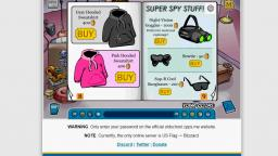 Club Penguin - Clothing Catalog December 2005