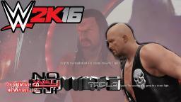 WWE 2K16 2K Showcase #21 - 3 Stages of Hell - No Way Out 2001