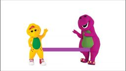 Barney and BJ Gay Poopy Orgy XXX