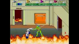 Teenage Mutant Ninja Turtles - Brawling - Arcade Gameplay