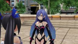 (MMD) Noire Talks Back