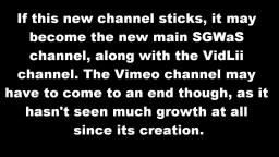 SGWaS has returned to YouTube