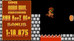 SMB.C SMB Any% NG+ Samus in 1:18.875