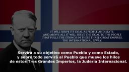 Advertencia de Vidkun Quisling