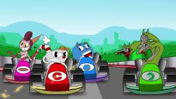 Cuphead racing