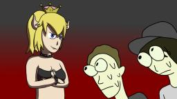 Mark zuccleberg and Leafyishere meet bowsette.
