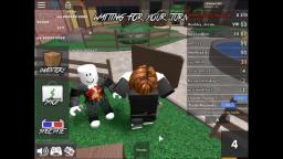 me (123marn321) and my brother (marinroblox2) dancing to numa numa in roblox