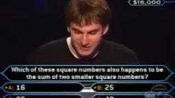 When not knowing Math can cost you $15,000 (Who Wants To Be A Millionaire Syndicated US)