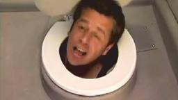 head in toilet prank