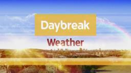 *HD* Daybreak Weather Slide (January - August 2012)